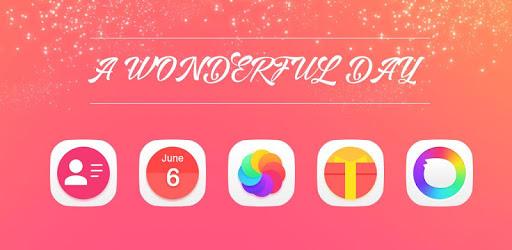 Wonderful|APUS Launcher theme apk
