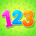 Numbers for kids! Counting 123 games! Icon