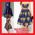 Latest African dress Model Icon