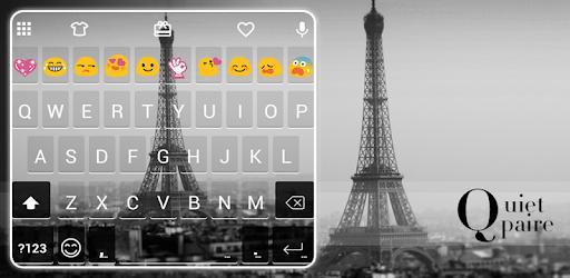 Quiet Paris Emoji Keyboard apk