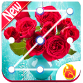Red Rose Flower Lock Screen, Red Rose wallpapers Icon