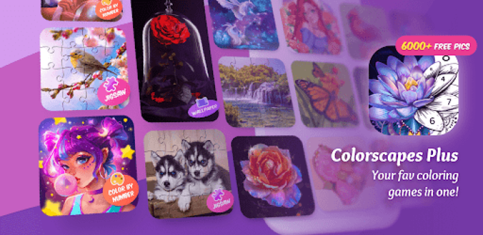 Colorscapes Plus - All-in-One Coloring Games apk