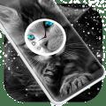 Cat Clock Live Wallpaper Icon
