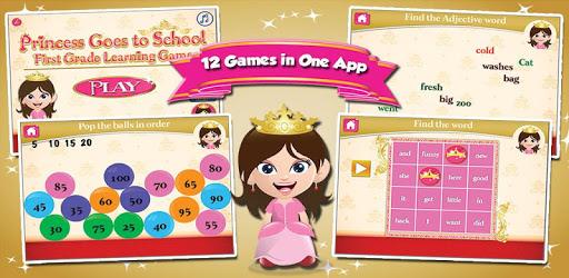 Princess First Grade Games apk