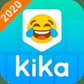 Kika Keyboard 2020 - Emoji Keyboard, Emoticon, GIF Icon