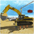 Construction City Building Sim Icon