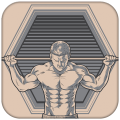 Home Workouts - 30 Day Fitness Challenge Icon