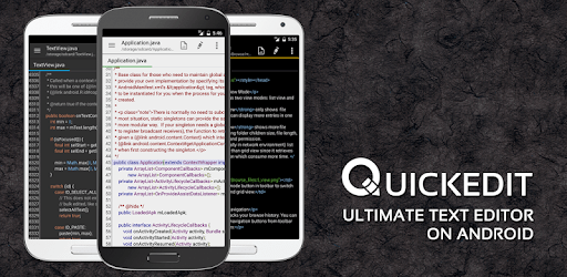 QuickEdit Text Editor Pro - Writer & Code Editor apk
