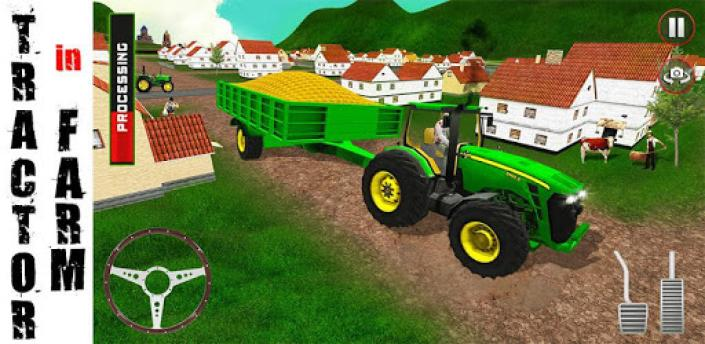 Tractor In Farm apk