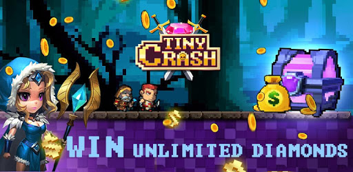 Tiny Crash - Merge heroes, earning your prize! apk
