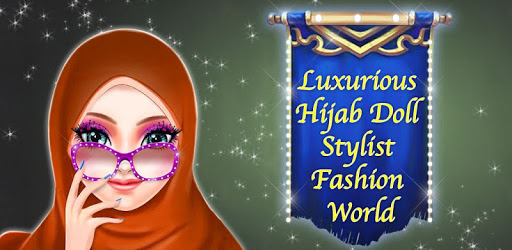Luxurious Hijab Doll Stylist Fashion World apk