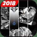 Magic White Tiles - Black Diamond Edition 2018 Icon