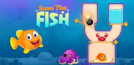 Save the Fish - Pull the Pin Game apk