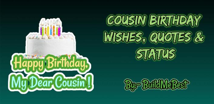 Birthday Wishes for Cousin, Quotes, Greeting Cards apk