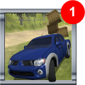 Cargo Transporter Pick-up 3D Icon