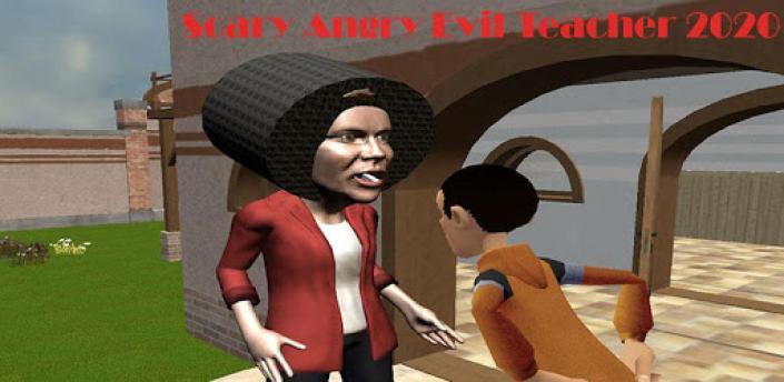Scary Angry Evil Teacher 2020: Crazy Spooky Games apk