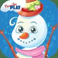 Snowman Preschool Math Games Icon