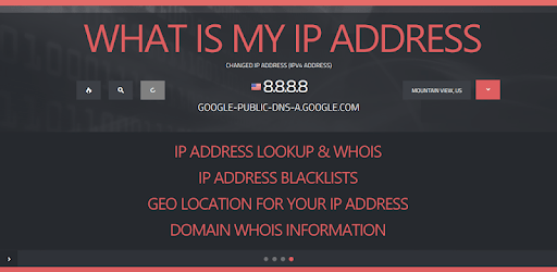 IP Address Geo LOOKUP & WHOIS - Domain, DNS, Speed apk
