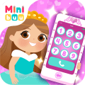 Baby Princess Phone Icon