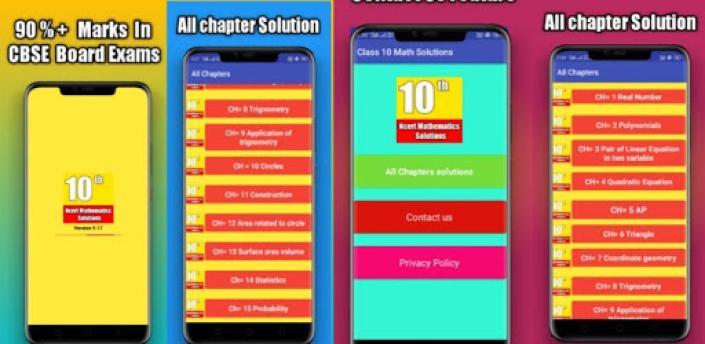 Class 10 Maths NCERT Solution apk