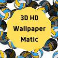 3D HD Wallpapers Matic Icon