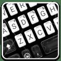 White Black Business Keyboard Theme Icon