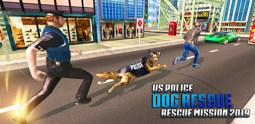 US Army Dog Airport Crime Chase apk