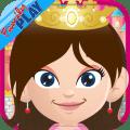 Princess Toddler Games Full Icon