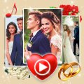 Wedding Slideshow With Music 💝 Video Maker Icon