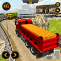 Gold Transporter Truck Driver: Truck Driving Games Icon