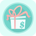 Cash Gift - Free Gift Cards Icon