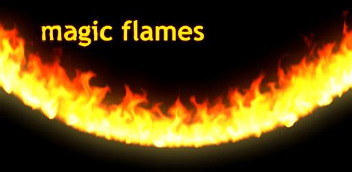 Magic Flames Free - fire live wallpaper simulation apk