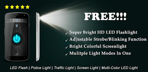 Flashlight HD 2017: Super Brightest LED Torch Lite apk