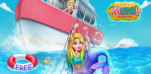 Mermaid Secrets1- Mermaid  Princess Rescue Story apk