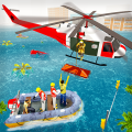 Disaster Rescue Service - Emergency Flood Rescue Icon