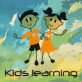 Kids Learning - Poems, Rhymes, Stories, Alphabets Icon