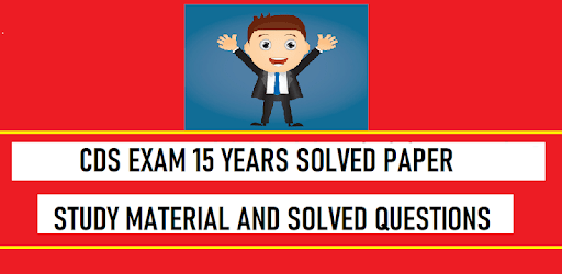 CDS Exam 15 Years Solved Previous Papers apk