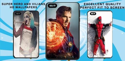 Super Hero and Super Villain HD Wallpaper apk