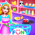 Supermarket Clean Up-Grocery Store Cleaning Games Icon