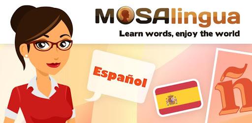 Learn Spanish with MosaLingua apk