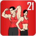 Lose Weight In 21 Days - Home Fitness Workout Icon