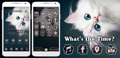 Cute Theme-What's the Time?- apk