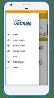 Flight booking App Screen 2