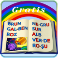 Learn to Read in Romanian - the Alphabet of Colors Icon