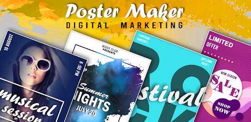 Digital Marketing Poster Maker apk