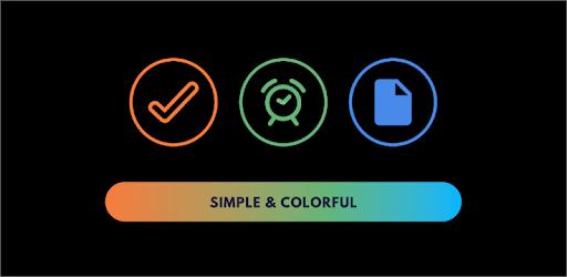 Rainbow TO-DO List, Tasks & Reminders apk