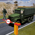 Army War Truck Parking Game Icon