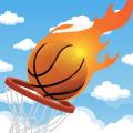 Basketball Dunk The Balls Icon