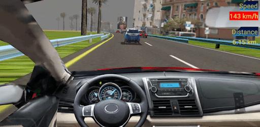 Traffic Racing : in car, curvy road, drift, police apk