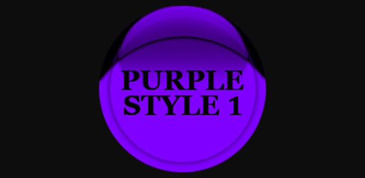 Purple Icon Pack Style 1 ✨Free✨ apk